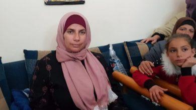 والدة الشهيد عمر أبو ليلى